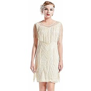 Coucoland années 1920 robe gatsby longue robe...