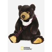 Peluche ours noir d asie national geographic