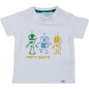 T-shirt silvian heach garçon. blanc. 6...
