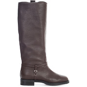 Sergio rossi, boots brun, femme, taille: 36