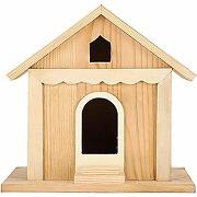 Zerodis nichoir en bois oiseau maison cabane...
