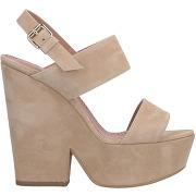 Sandales twinset femme. beige. 35 livraison...