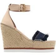 Sandales see by chloÉ femme. beige. 41...