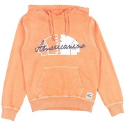 Sweat-shirt americanino fille. orange. 8...