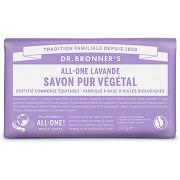 Dr bronner's - savon solide lavande - 140g...