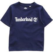 T-shirt timberland garçon. bleu foncé. 3...