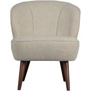 Sara - fauteuil en tissu bouclette