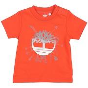 T-shirt timberland garçon. orange. 1 livraison...