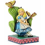 Disney traditions figurine curiouser et...