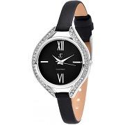Montre femme mf431-noir bracelet cuir noir - so...