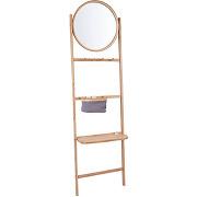 Bamboo - portant avec miroir