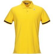 Polo k-way homme. jaune. s livraison standard...