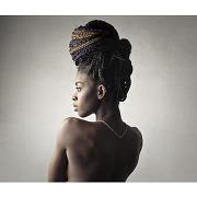 Tableau afrique african woman 80x80
