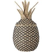 Rosamaj - panier forme ananas en fibre naturelle