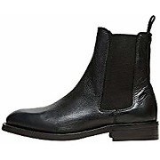 Selected femme slfcam leather chelsea boot b,...