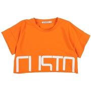 T-shirt custo barcelona fille. orange. 8...