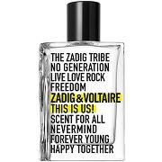 Zadig&voltaire this is us ! eau de toilette 50ml