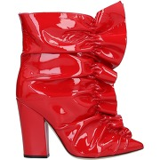 Bottines sergio rossi femme. rouge. 35...