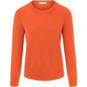 Le pull 100% coton peter hahn orange taille 46