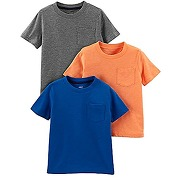 Simple joys by carter's 3- pack solid pocket...