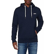 Superdry ol classic hood pull-over, midnight...