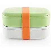 Lékué 301030 boîte à lunch, vert, 1000 ml