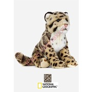 Peluche leopard nebuleux national geographic