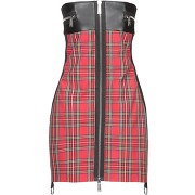 Robe courte dsquared2 femme. rouge. 38...