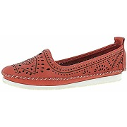 Andrea conti 23414, mocassins femme, rouge (rot...