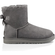 Ugg, w mini bailey bow ii gris, homme, taille: 40