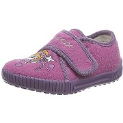 Geox j home a, chaussons pour fille violett...