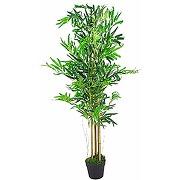 Plantes artificielles en bambou - xl - marron -...