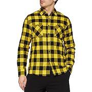 Urban classics checked flanell shirt chemise,...
