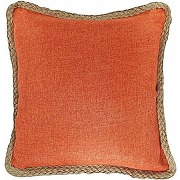 Blue dolphin decorative hamp rope piping throw...