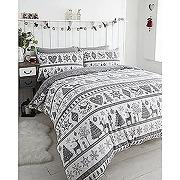 Noël parure de lit avec housse de couette...