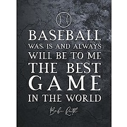 Slate inspiring quote the greatest babe ruth...