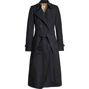 Burberry trench the long chelsea - bleu