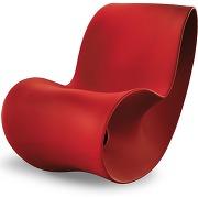 Magis rocking chair voido - orange