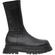 Burberry bottes à plateforme - noir