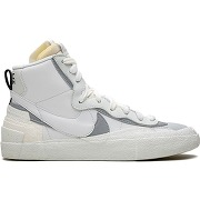 Nike baskets montantes blazer mid - blanc