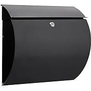 Arregui aura boîte à lettres d'extérieur noir