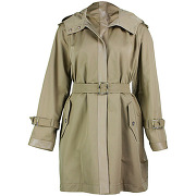 Max mara, trench beige, femme, taille: 42 fr