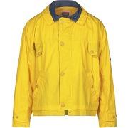 Blouson zip usually homme. jaune. m livraison...