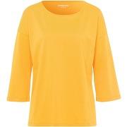 Le t-shirt 100% coton green cotton jaune taille 48