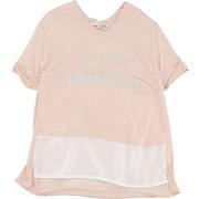T-shirt silvian heach fille. rose clair. 8...
