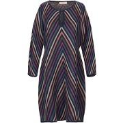 Robe courte twinset femme. bleu foncé. s...