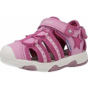Geox b multy, sandales bout ouvert baby-girl,...