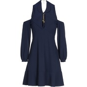 Robe courte twinset femme. bleu foncé. 36...