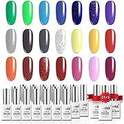 Umikk gel vernis à ongles set 21 couleurs 5 ml...