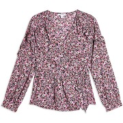 Ditsy floral frill blouse blouse topshop femme....